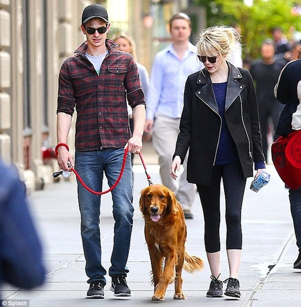 15 Celebrities with Rescue Dogs 6