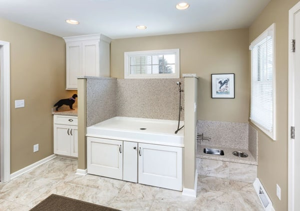 Perfect 40 Easy Dog Wash Area Ideas 14