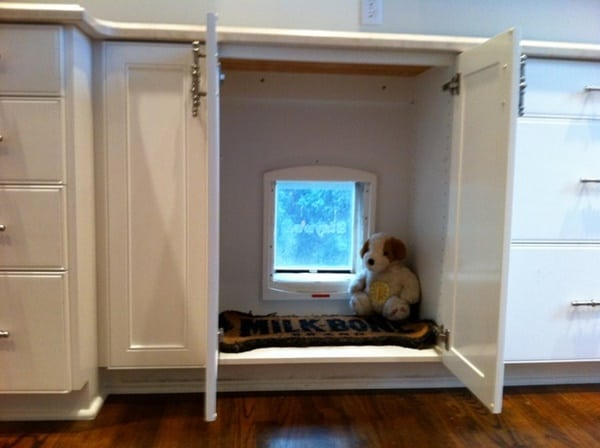 30 cool and classy pet door ideas tail and fur Interior door with cat flap built in