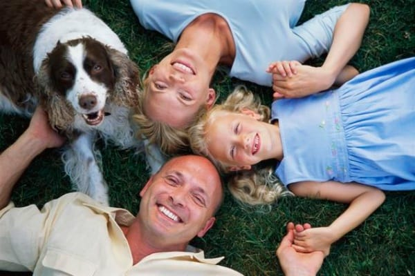 Dog Photography Ideas With Family