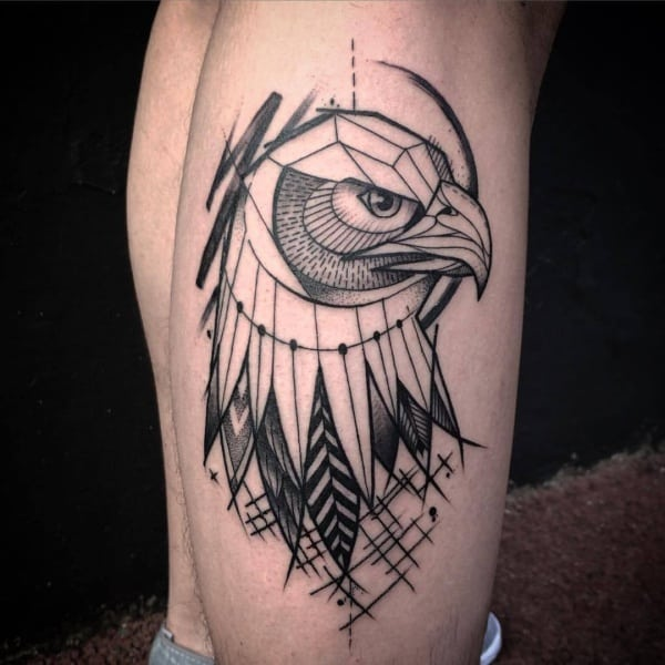 Tattooed Animals: 50 Meaningful Geometric Animals Tattoos We Handpicked For You