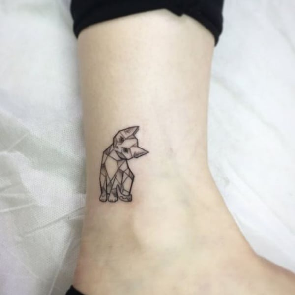Tattoo Woman Preacher: 50 Meaningful Geometric Animals Tattoos We Handpicked For You