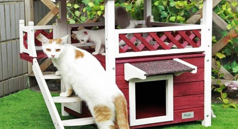 35 warm ideas for outdoor cat houses for winters rh tailandfur com cat house ideas pinterest cat house ideas for winter
